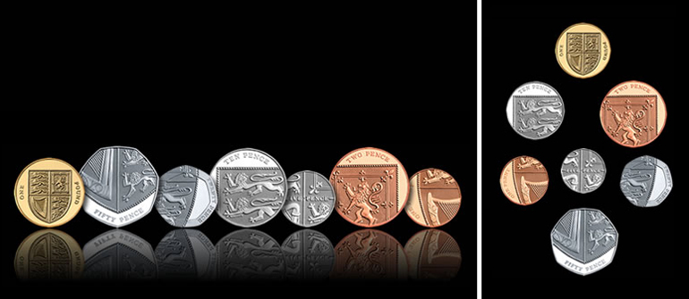 New coins from the Royal Mint